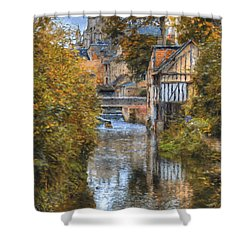L'eure A Louviers Shower Curtain