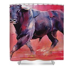 Levantado Shower Curtain by Mark Adlington
