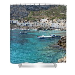 Levanzo Shower Curtain