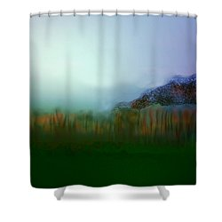 Levels Of Environment Shower Curtain