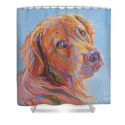 Lewis Shower Curtain by Kimberly Santini