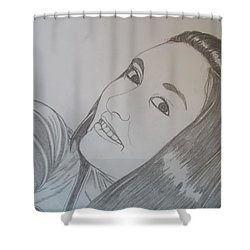 Lexi Shower Curtain by Justin Moore