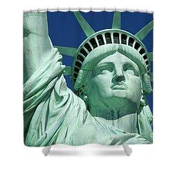 Liberty Shower Curtain by Brian Jannsen