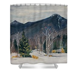 Liberty In Franconia Range Shower Curtain