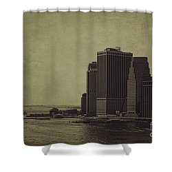 Liberty Scale Shower Curtain by Andrew Paranavitana