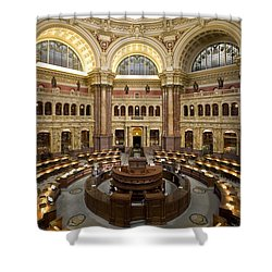 Library Of Congress Shower Curtain by Mountain Dreams
