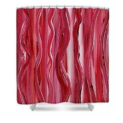 Licorice Shower Curtain