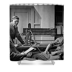 Lie Detector Test Shower Curtain by Underwood Archives