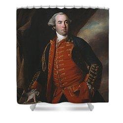 Lieutenant Colonel William Phillips 1764 Shower Curtain by Francis Cotes