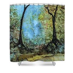 Life All Around Shower Curtain