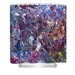 A Thousand And One Paintings Shower Curtain