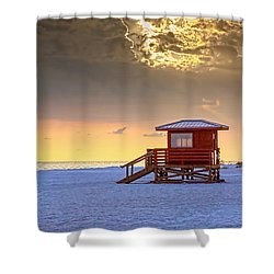 Life Guard 1 Shower Curtain