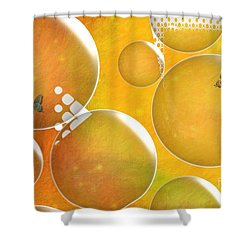 Life In A Bubble   Shower Curtain by Liane Wright