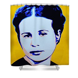 Life In A Jar. Irena Sendler Shower Curtain