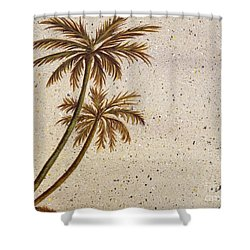 Life In The Midst Shower Curtain by Debbie Broadway