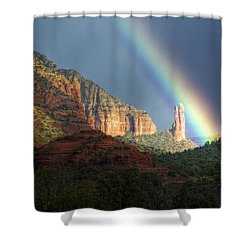Life Is Beautiful  Shower Curtain by Saija  Lehtonen