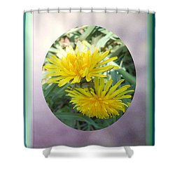 Life Is Made Up Of Dandelions Shower Curtain by Patricia Keller