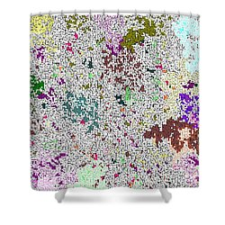 Life 'n Flux Shower Curtain