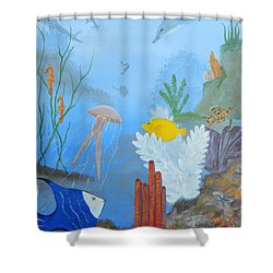 Life Under The Ocean Sea Shower Curtain