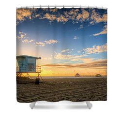 Lifeguard Off Duty Shower Curtain