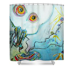 Lift Shower Curtain