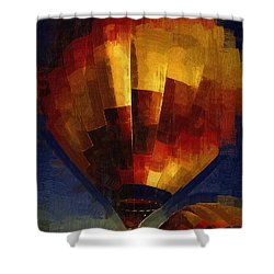 Shower Curtain featuring the digital art Lift by Kirt Tisdale