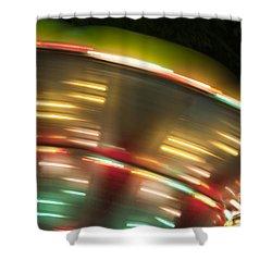 Light Abstract 9 Shower Curtain by Tony Cordoza