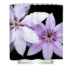 Light And Darkness Shower Curtain by Parker Cunningham