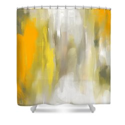 Light And Grace Shower Curtain by Lourry Legarde