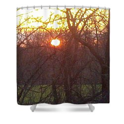 Light At Sunrise Shower Curtain