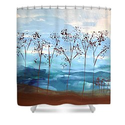Light Breeze Shower Curtain