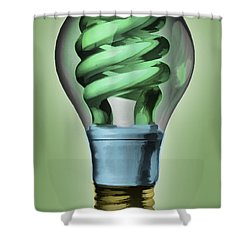 Light Bulb Shower Curtain