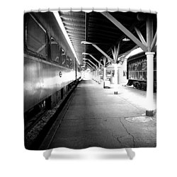 Shower Curtain featuring the photograph Light by Faith Williams