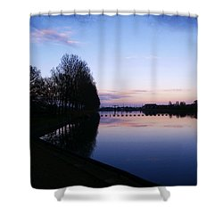 Light Fall Shower Curtain