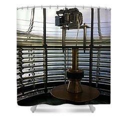 Light House Lamp Shower Curtain by Susan Garren