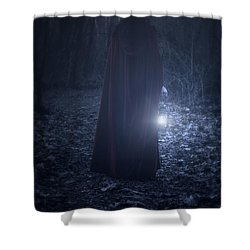 Light In The Dark Shower Curtain by Joana Kruse