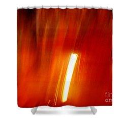 Light Intrusion Shower Curtain