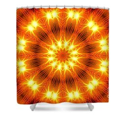 Light Meditation Shower Curtain by Joseph J Stevens