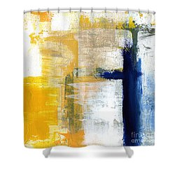 Light Of Day 3 Shower Curtain by Linda Woods