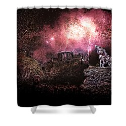 Light Of The Maya Shower Curtain