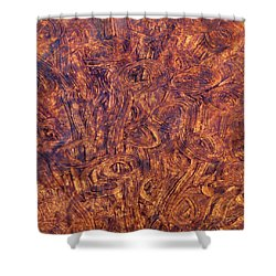 Shower Curtain featuring the mixed media Light Race by Sami Tiainen