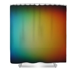 Light Refracted - Rainbow Through Prism Shower Curtain