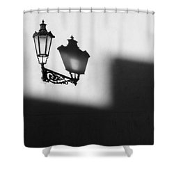 Light Shadow Shower Curtain by Dave Bowman