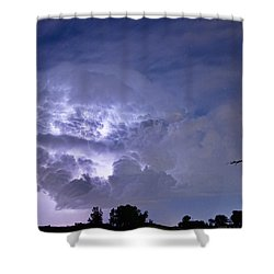 Light Show Shower Curtain by James BO  Insogna