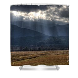 Light Shower Shower Curtain by Douglas Stucky