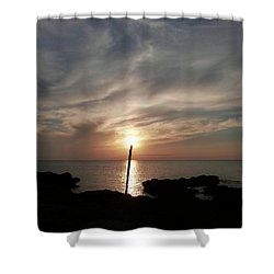 Light The Sun Shower Curtain