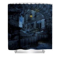 Light The Way Shower Curtain by Shelley Neff