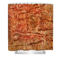 Shower Curtain featuring the mixed media Light Travel by Sami Tiainen