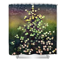 Light Up The Season Shower Curtain