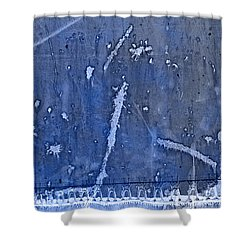 Lighthouse Blues Shower Curtain by John Stephens